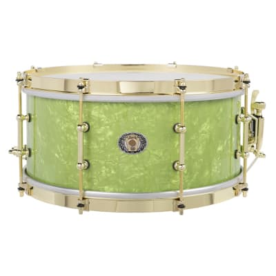 Ludwig 110th Anniversary Classic Maple Vintage Emerald Pearl 6.5x14 Snare Drum 2019