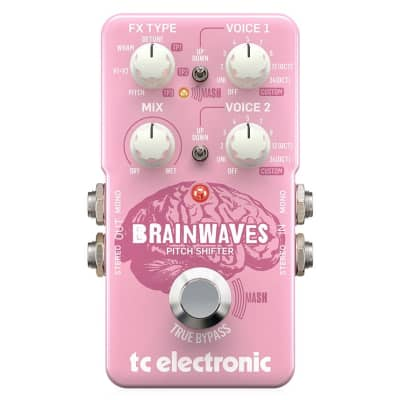 TC Electronic Brain Waves Pitch Shifter with Studio-Grade Algorithms