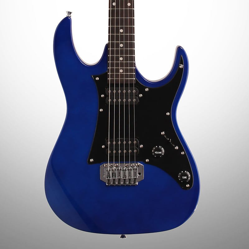 Ibanez Grx20z Electric Guitar Jewel Blue Zzounds Reverb