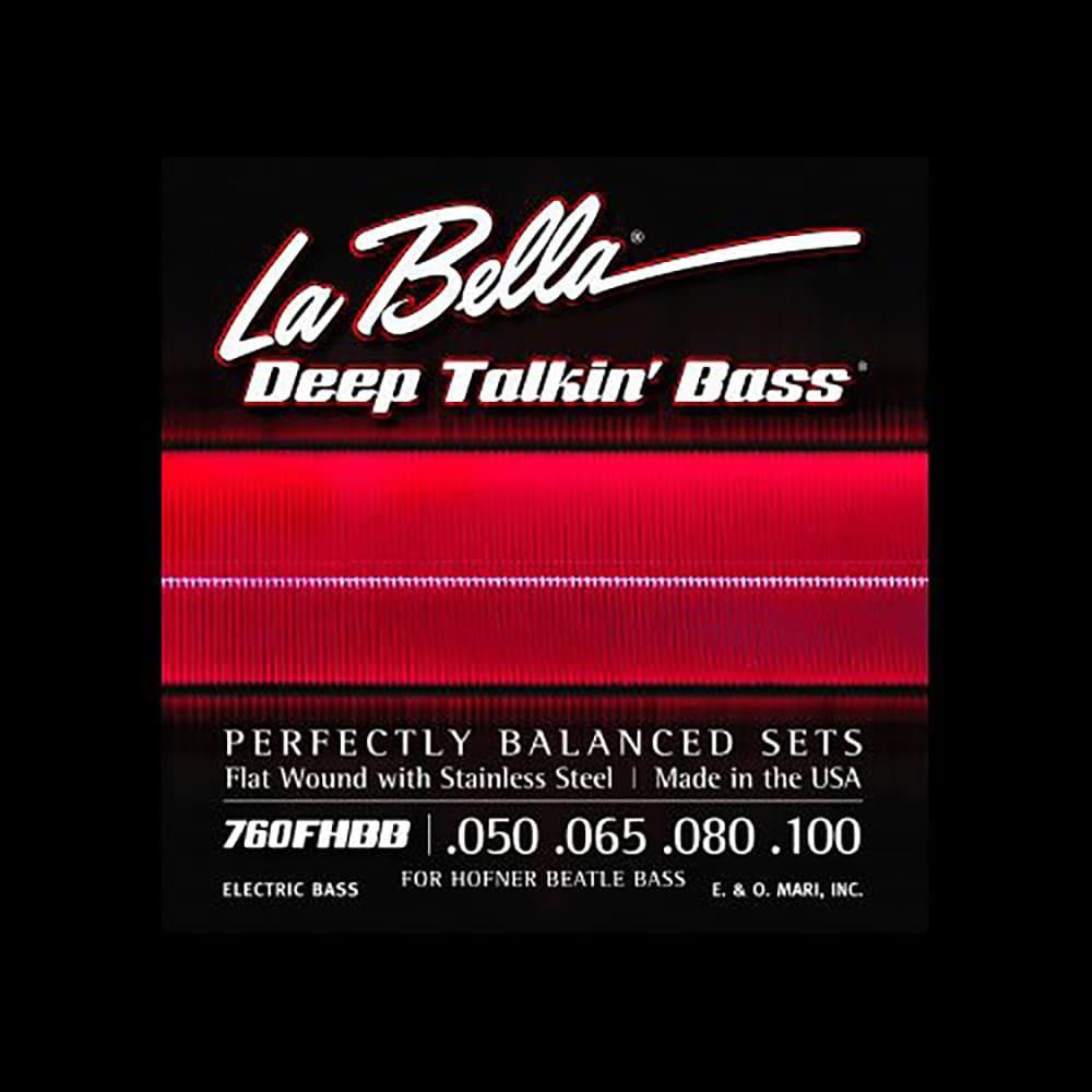 la bella 760fhbb beatle bass strings stainless steel flat reverb. Black Bedroom Furniture Sets. Home Design Ideas