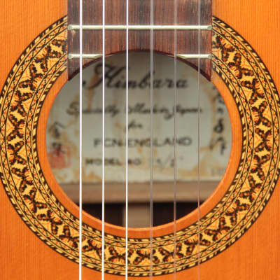Kimbara  25/Z / 1970s / Great  / Nice inlays / Butterfly rosette / Near Mint / OHSC  for sale