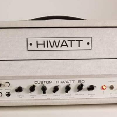 Hiwatt CUSTOM 50 DR504 WHITE