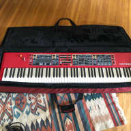 Nord Stage 2 HA 88 keyboard with Nord soft case