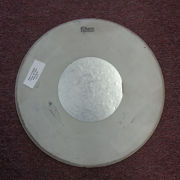 used fibes vintage 18 drum head springfield music reverb. Black Bedroom Furniture Sets. Home Design Ideas