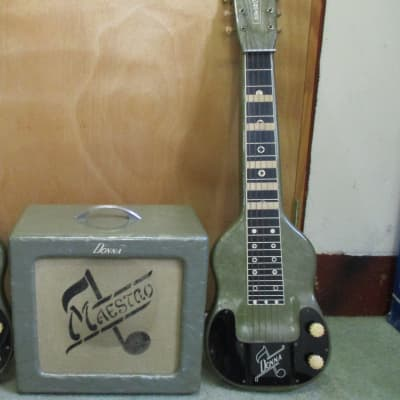 Matching Magnatone Maestro 6-String Lap Steel & Matching Amp Package