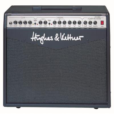 "Hughes & Kettner ATTAX Series Tour Reverb 2-Channel 100-Watt 1x12"" Solid State Guitar Combo"