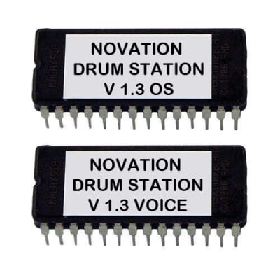 Novation Drumstation Latest Os 1.3 Firmware Eprom Tr 808 909 Clone Drum Station