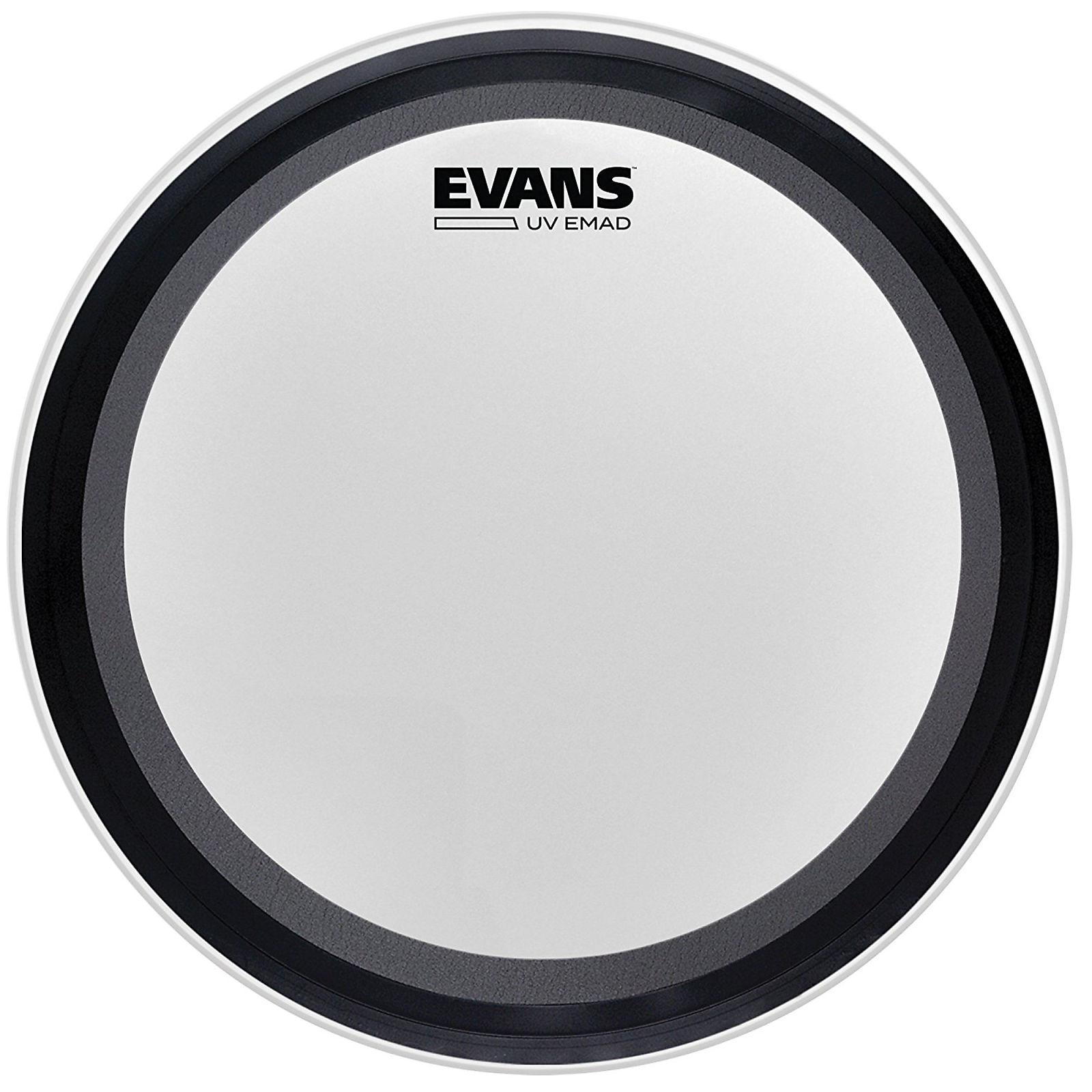 "Evans CalfTone EMAD Bass Drum Skin Kick Heads 16/""//18/""//20/""//22/""//24/""//26/"""