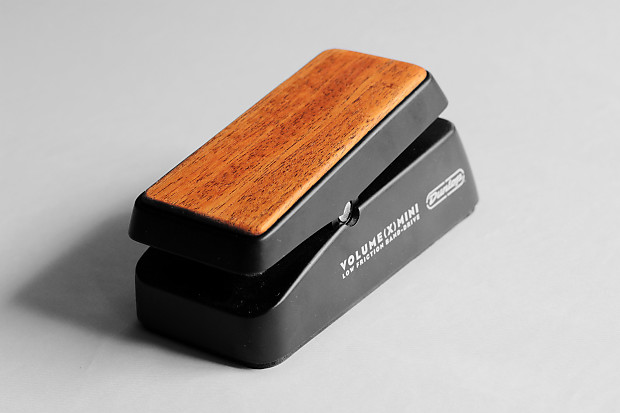 mahogany pedal topper for dunlop volume x mini reverb. Black Bedroom Furniture Sets. Home Design Ideas