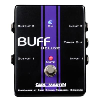 Carl Martin Buff Deluxe Dual Noise Buffer Pedal
