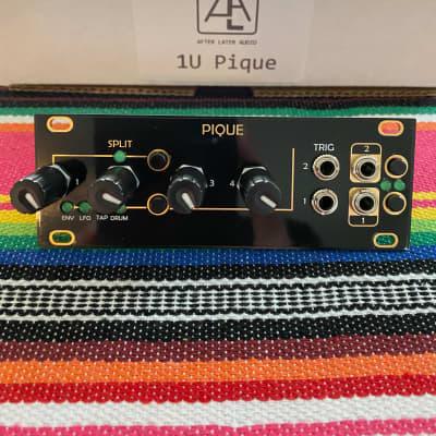 After Later Audio Pique 1u (Intellijel format) Based on Mutable Instruments Peaks Black/Gold