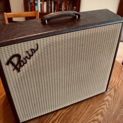1960s Paris Master II Solid State 1x12 amp w/ tremolo & upgraded speaker for sale