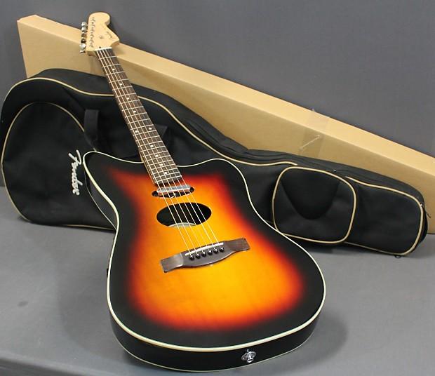 fender jzm deluxe acoustic electric jazzmaster guitar reverb. Black Bedroom Furniture Sets. Home Design Ideas