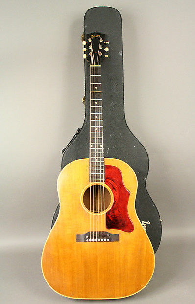 1959 gibson j 50 adjustable bridge vintage acoustic guitar reverb. Black Bedroom Furniture Sets. Home Design Ideas