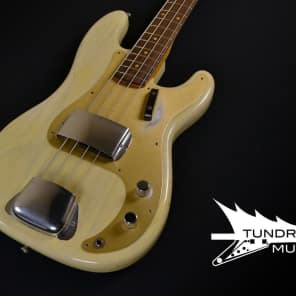 Fender Custom Shop 1959 Journeyman Precision Bass - Vintage Blonde for sale