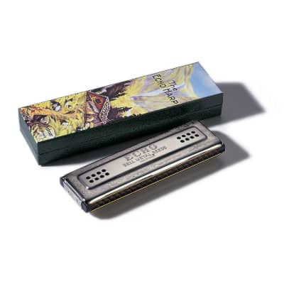 Hohner 56/96 Echo Harp Tremolo Harmonica - Key of C & G