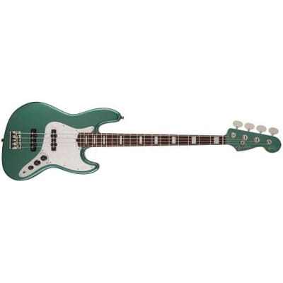 Fender Adam Clayton Jazz Bass (Sherwood Green Metallic) for sale