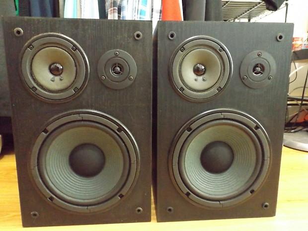 Yamaha NS A635A Passive Studio Monitors Bookshelf Speakers