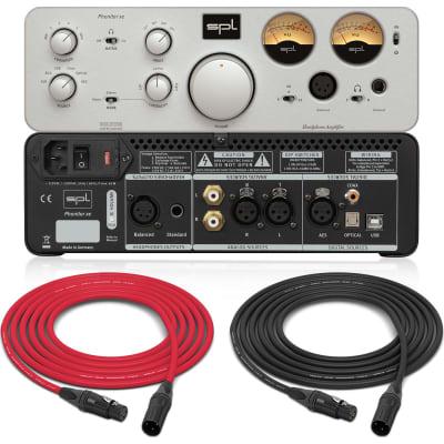 SPL Phonitor xe | Headphone Amplifier (Silver) | Pro Audio LA