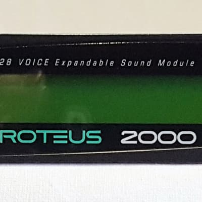 EMU Proteus 2000 Vintage Rack Synth