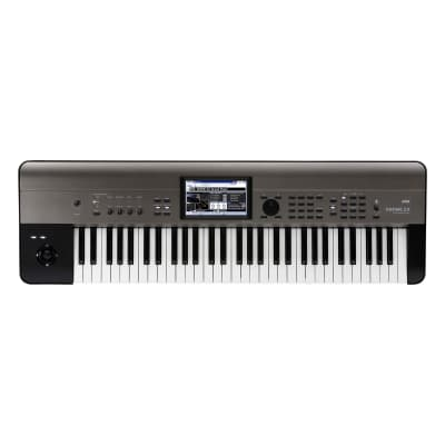 Korg Krome EX 61 61-Key Synthesizer with New Sounds and PCM