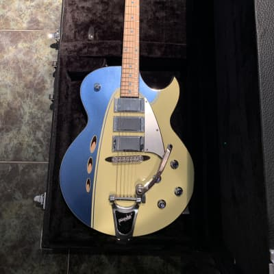 Backlund Rockerbox DLX with Bigsby for sale