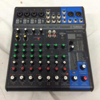 Yamaha MG10XU 10 Input Mixer w/ Compression, Effects and USB Customer Return