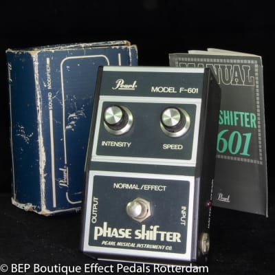 Pearl F-601 Phase Shifter s/n 503586 late 70's Japan