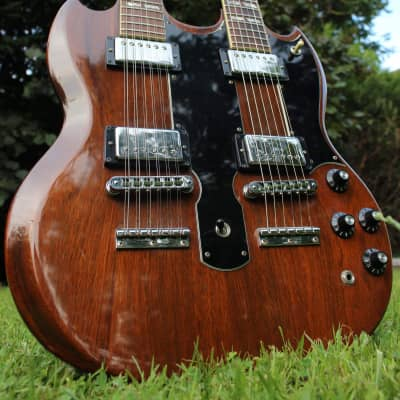 Gibson EDS-1275 1981 Brown for sale
