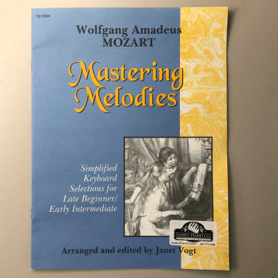 Mastering Melodies: Wolfgang Amadeus Mozart (Late Beginner/Early Intermediate Piano)