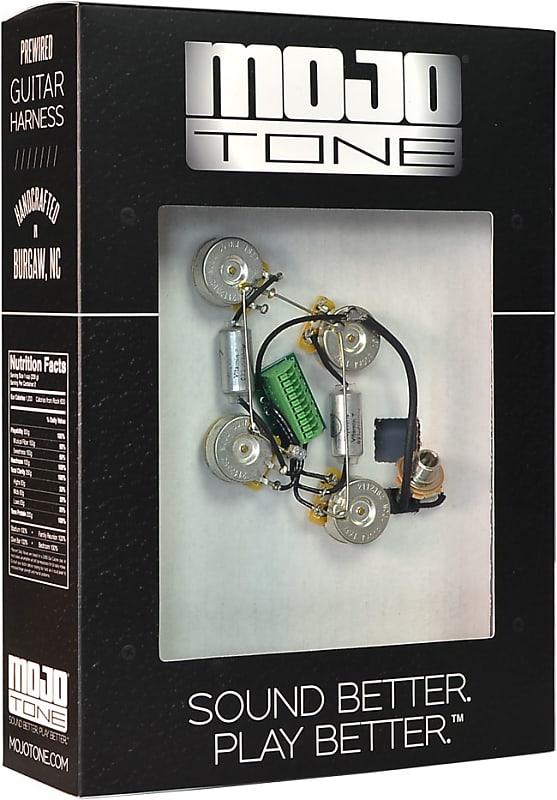 mojotone solderless les paul guitar wiring harness short reverb. Black Bedroom Furniture Sets. Home Design Ideas