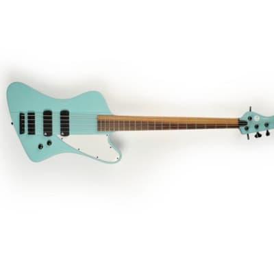 Torillo basses Vidar 5 full custom series 2018 Baby blue for sale
