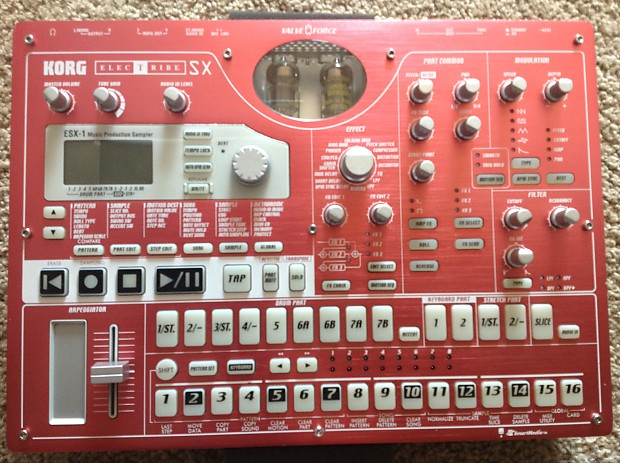 Korg Electribe ESX-1 Plus 4Gb of samples and 32MB smart media card