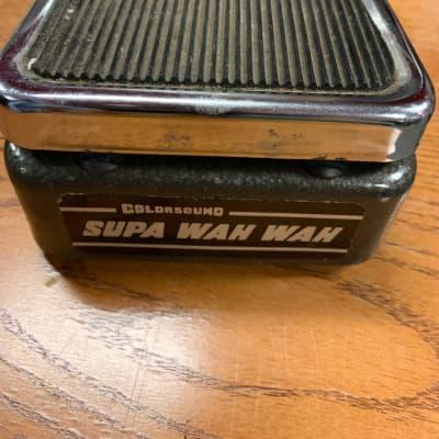 Colorsound  Supa Wah Wah  1970's Charcoal/Chrome