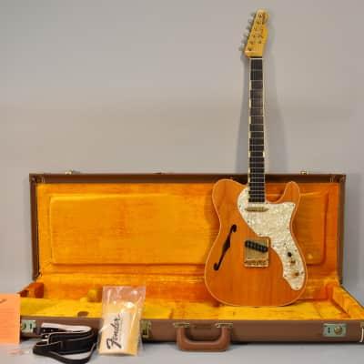 1989 Fender Masterbuilt Custom Shop Fred Stuart Telecaster Thinline Rare Electric Guitar w/OHSC for sale