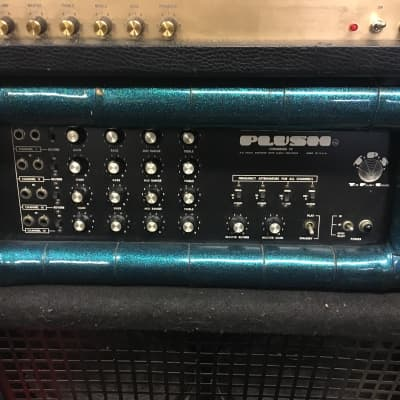 Plush Congress IV Blue Sparkle Vintage Tube Amplifier for sale