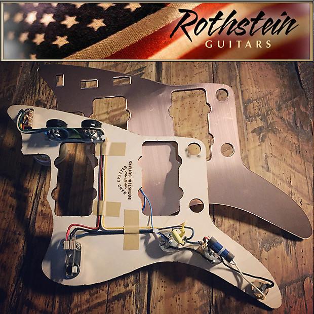 NEW Rothstein Prewired Jazzmaster Wiring + COPPER Shield 1958 | Reverb