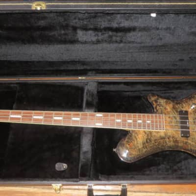 Kraken Champ Active Electric Bass 4 String Rare w/ Case for sale