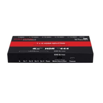Calrad 40-1063-HS-4 1 x 4 HDMI Distribution Amplifier