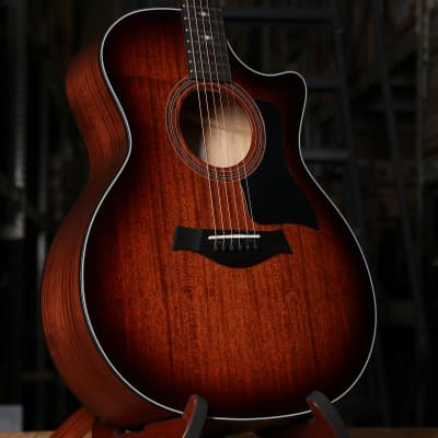 Taylor 324ce Grand Auditorium Acoustic Electric Guitar Tropical Mahogany Top