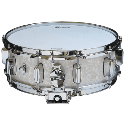 """Rogers #32 Dyna-Sonic 5x14"""" Wood Snare Drum with Bread and Butter Lugs Reissue"""