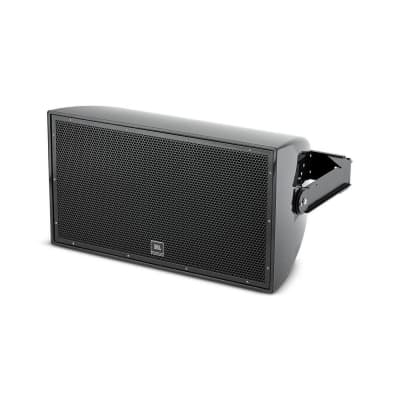 """JBL AW526 High Power 2-Way All-Weather Loudspeaker with 15"""""""" LF Black"""