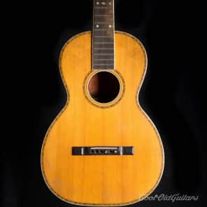 Vintage 1910s-20s Lyon & Healy Lakeside Acoustic Parlor Guitar with Brazilian Rosewood for sale