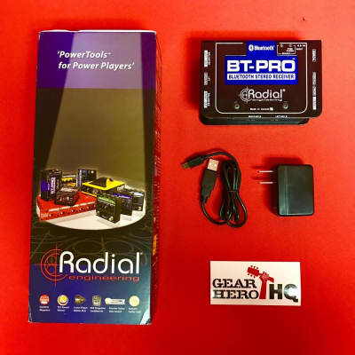[USED] Radial BT-Pro Bluetooth Direct Box (Dents and scratches on the enclosure.)