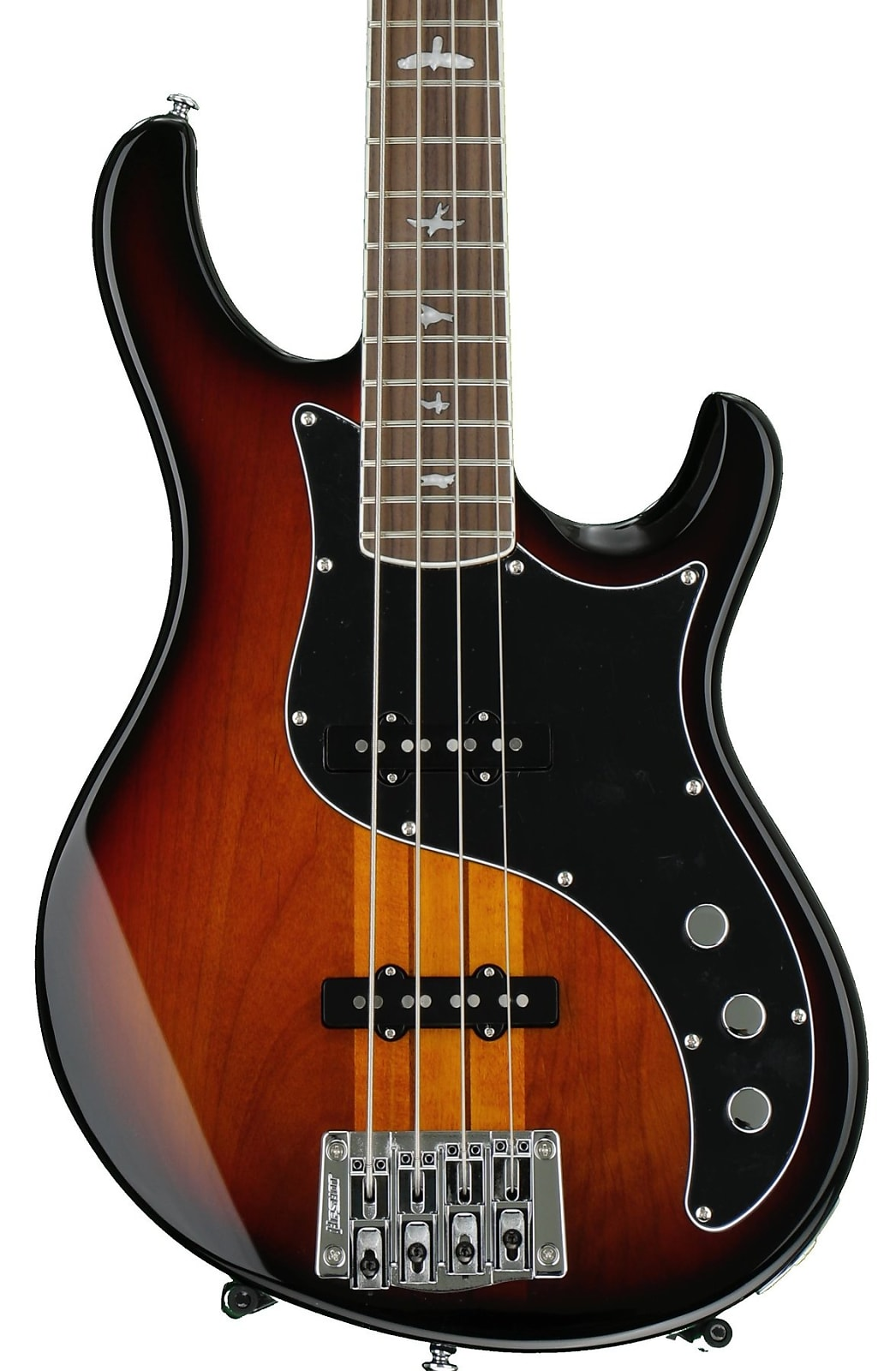 Paul Reed Smith PRS SE Kestrel Bass Electric Bass Tri-Color Sunburst