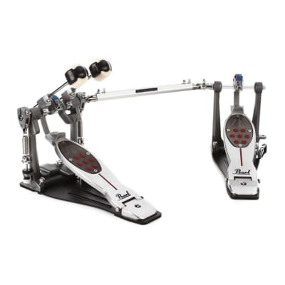 Pearl P2052BL Eliminator Redline Belt-Drive Double Bass Drum Pedal (Left-Footed)