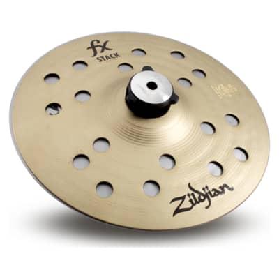 "Zildjian FXS8 8"" FX STACK PAIR W/MOUNT"