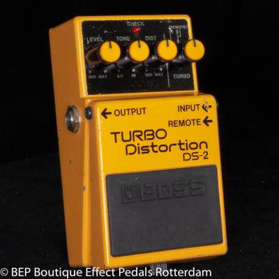 Boss DS-2 Turbo Distortion 2010 s/n X0A4797 as used by Prince ( 2012 period ), John Frusciante