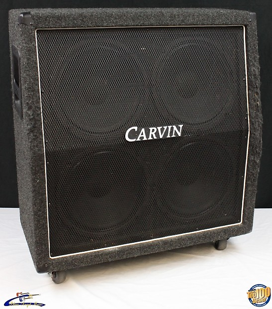 carvin v412 4x12 guitar amplifier speaker cabinet works reverb. Black Bedroom Furniture Sets. Home Design Ideas
