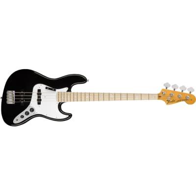 Fender American Original *70s Jazz Bass Black MN - Basso Elettrico 4 Corde for sale
